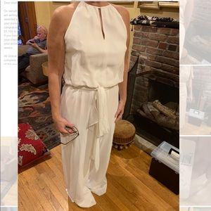 New with tags Donna Morgan ivory jumpsuit!